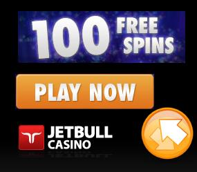 JETBULL CASINO 100 FREE SPINS EXCLUSIVE NETENT BONUS