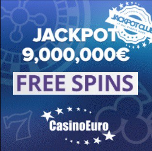 CainoEuro 50 free spins and 150% welcome bonus