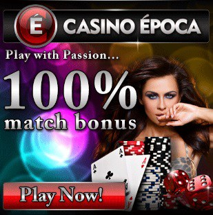 Casino Epoca | €5 gratis spins no deposit + 100% up to €200 free bonus