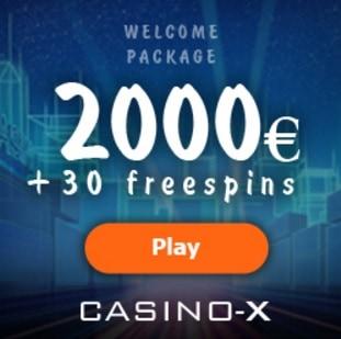 Casino-X free spins