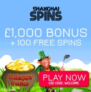 Shanghai Spins - UK Online Casino