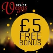 Fruity Vegas free spins