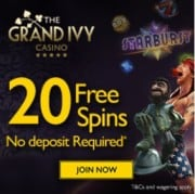 Grand Ivy Casino free spins