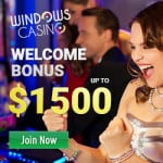 Windows Casino $5 daily free spins and $1500 free bonus