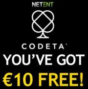 Codeta Casino free bonus