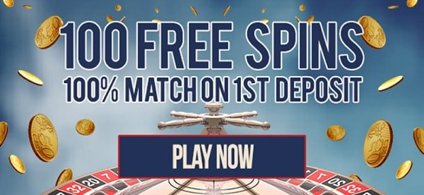 100 free spins on Microgaming slots