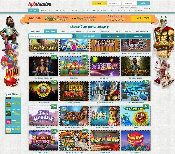 Spin Station Casino Review & Rating