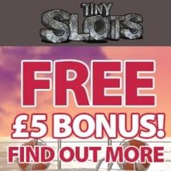 Tiny Slots Casino £5 free no deposit bonus (SCAM)