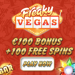Freaky Vegas Casino - closed. Try other casino from the list..