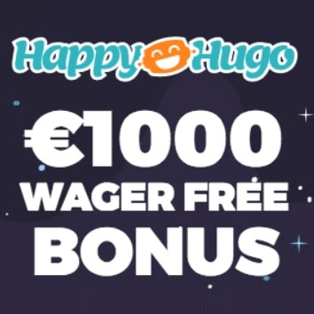 Happy Hugo Casino | 225% bonus up to €1000 and free spins | review