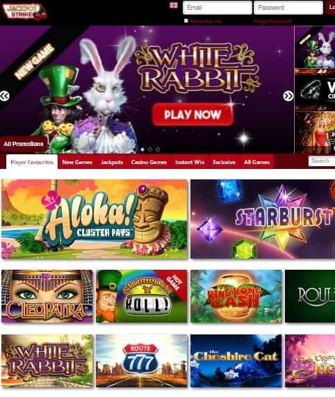 JackpotStrike Casino Review