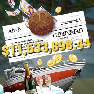 Mega Moolah jackpot winner at Yako Casino! Get free spins bonus!