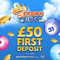 Crown Bingo free spins