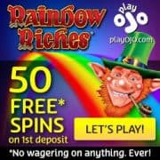 PlayOJO Casino free spins