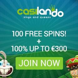 Casilando - 100 free spins and €300 free bonus - new casino