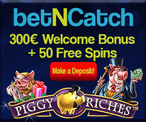 BetNCatch Casino 1000 free spins and €1000 for slots & live dealer