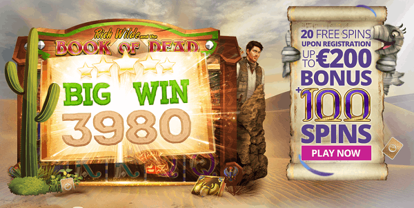 Play 20 free spins here!