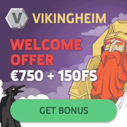 VikingHeim Casino Review: 300% up to €750 bonus + 150 gratis free spins