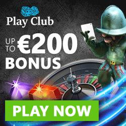 Play Club Casino | 100 free spins   100% up to $€£ 200 bonus | Review