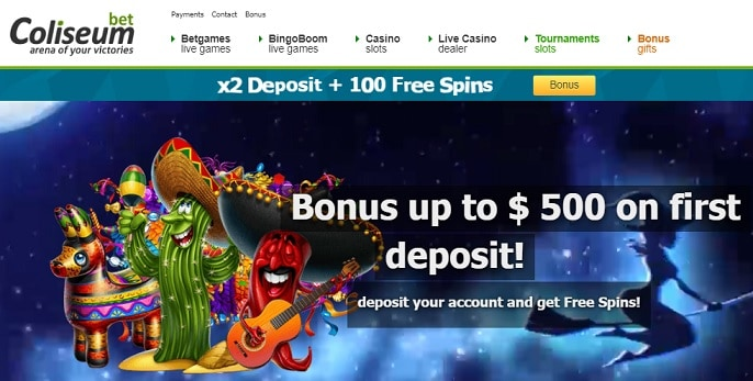 Coliseum Bet Casino Review