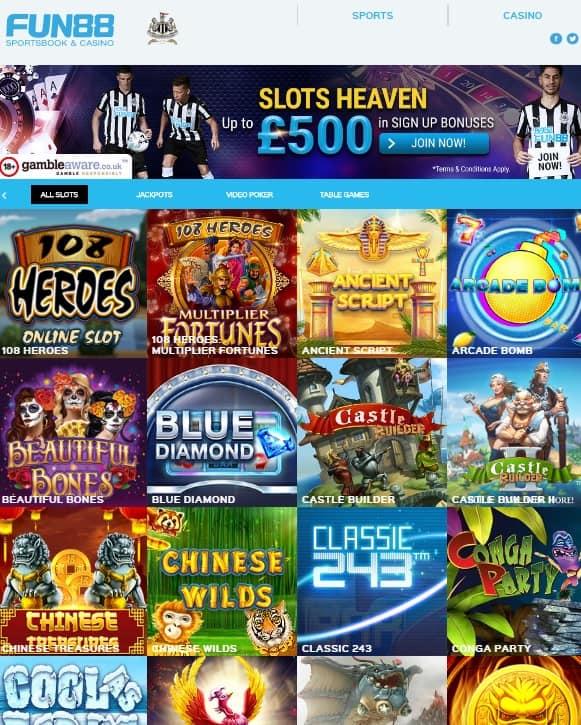 Fun 88 Casino & Sports - Review