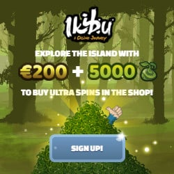 Ikibu Casino 100 free spins + 150% welcome bonus