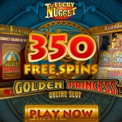 Get 350 free spins and €200 free bonus