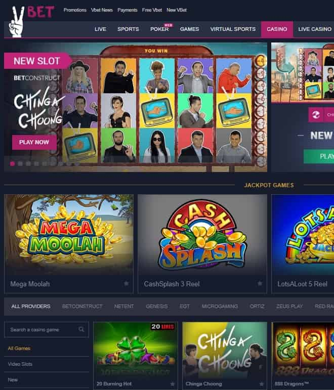 VBet Casino Review