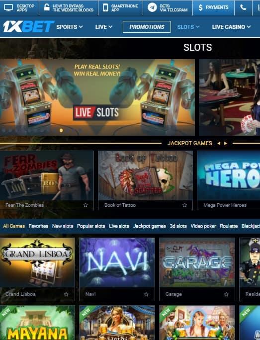 Homepage snapshot