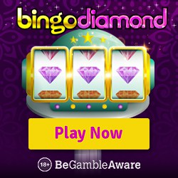 Bingo Diamond Casino | 160 free spins (10 FS ndb) plus 200% free bonus