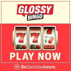 Glossy Bingo | 50 free spins and 300% free bonus | Microgaming