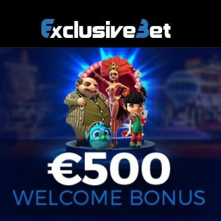 125% up to €500 bonus and 100 free spins