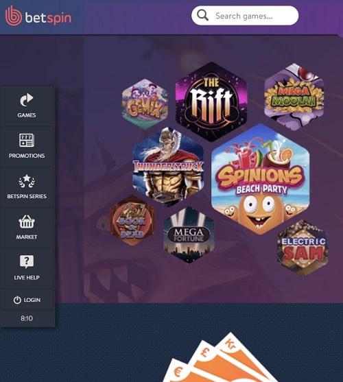 Betspin.com Casino Review