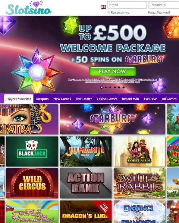 Slotsino Casino Review