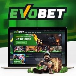 Evobet Casino [Evobet.com] 100% up to €/£/$500 bonus + free spins