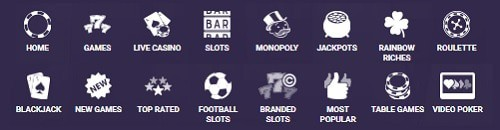 BetBright Casino games