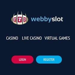 Webbyslot Casino - 100 free spins and 100% welcome bonus