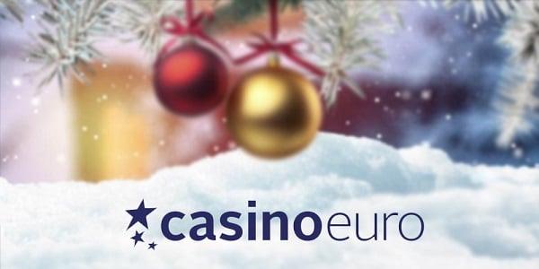 CasinoEuro Christmas Bonus Calendar - daily spins & cash prizes