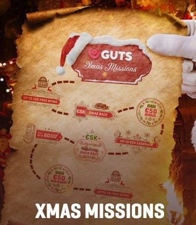 Xmas Guts Promotions