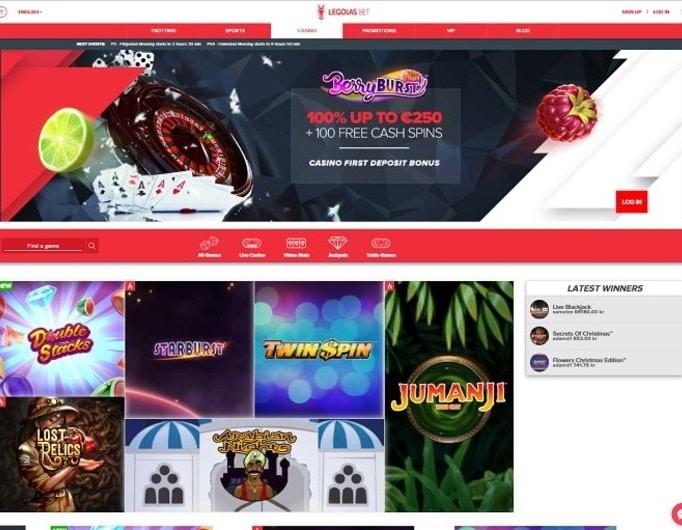 Legolas Bet Casino Review