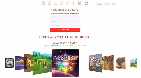 Deluxino Casino Review