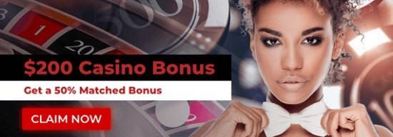 PowerPlay $200 casino bonus on deposit - new players only