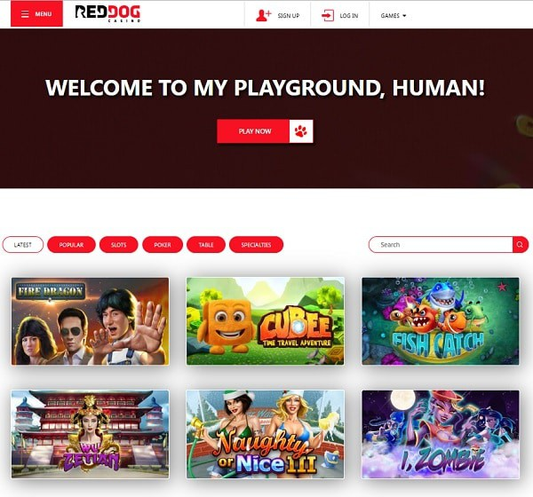 Red Dog Casino review