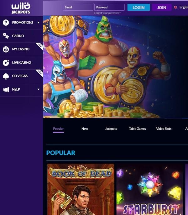 Wild Jackpots Casino review