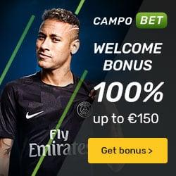 CampoBet Casino 200 free spins and €500 welcome bonus