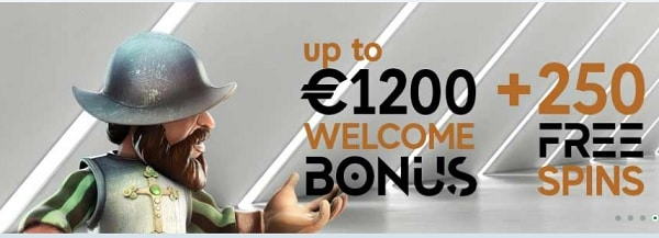 GoPro Casino free spins and gratis bonus
