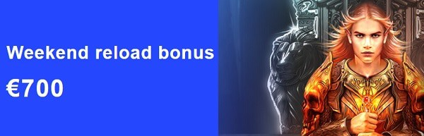 LibraBet Casino weekend reload bonus