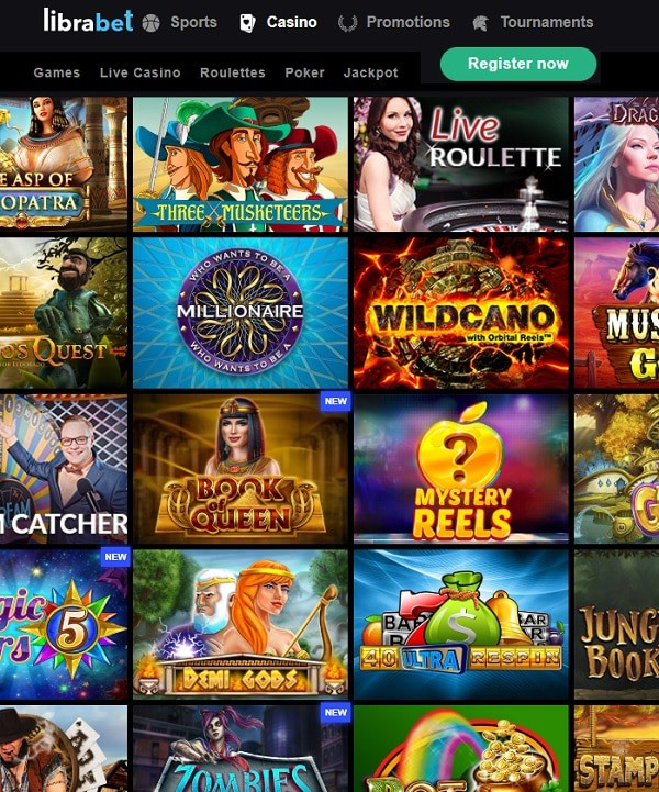LibraBet Casino Review