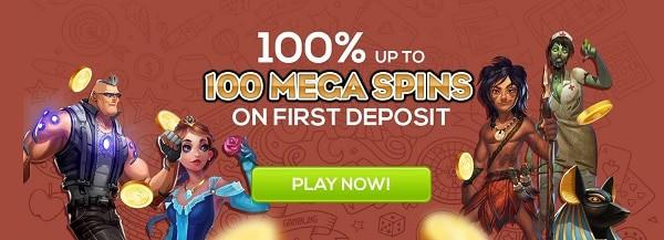 Queen Vegas Casino register and get welcome bonus