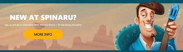 Spinaru Casino register and login